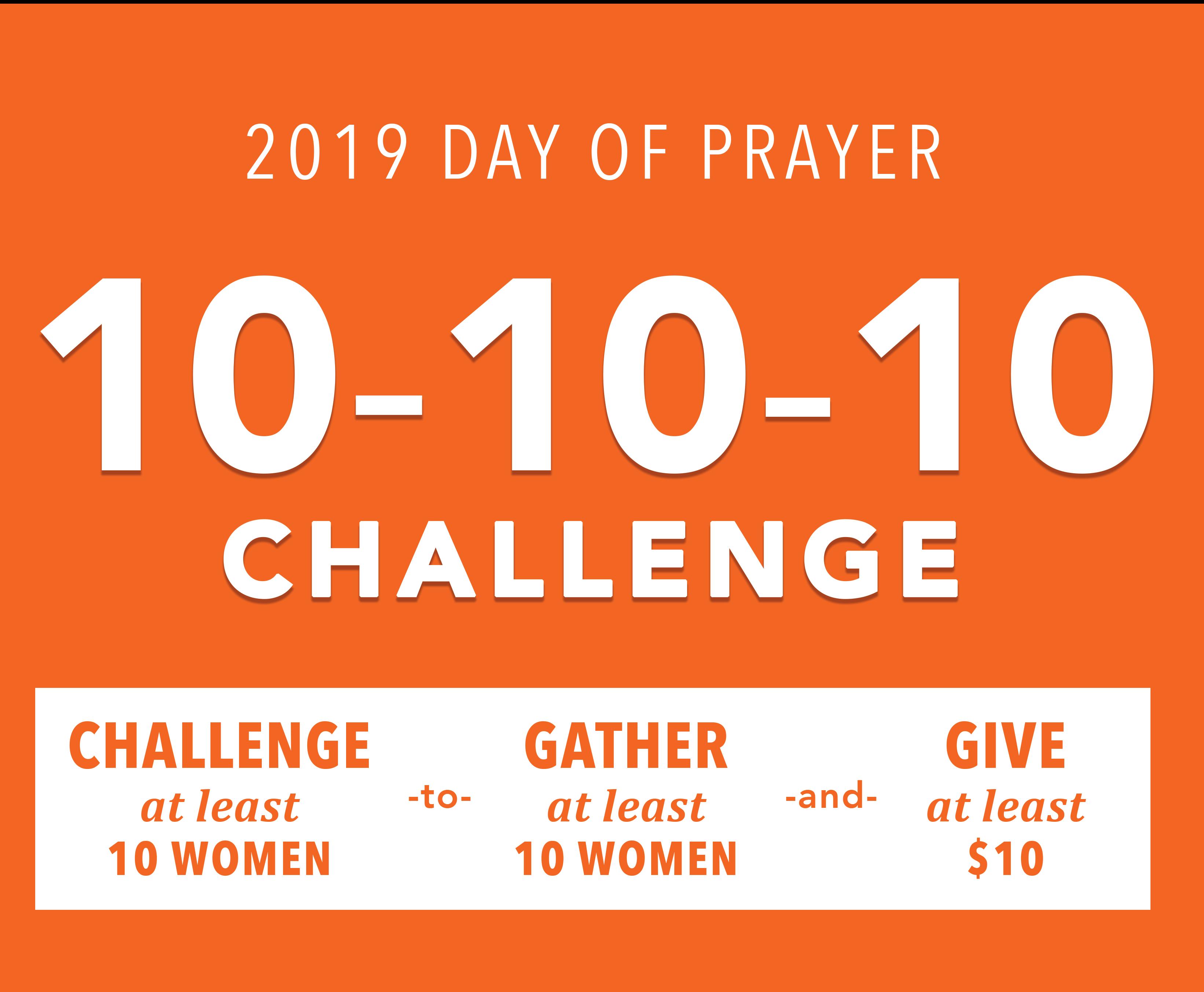 2019 Day of Prayer Challenge